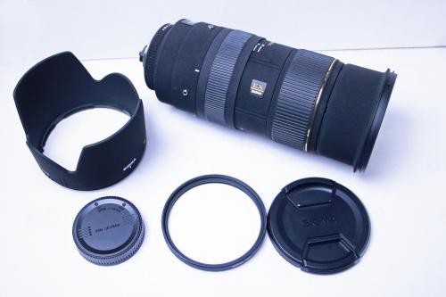 札幌市内のお客様より一眼レフ用の望遠レンズを買取りました。