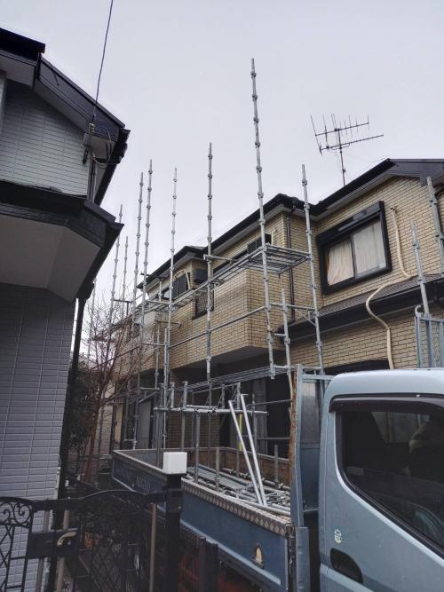神奈川県横浜市港北区某所戸建て塗り替え工