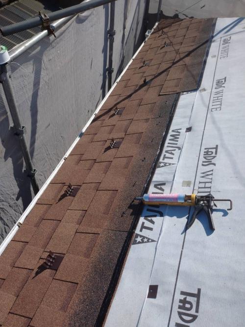 鶴ヶ島市で屋根のリフォームを施工しました