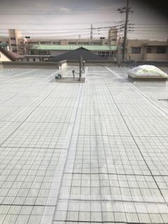 鶴ヶ島市で屋上防水工事を施工してきました