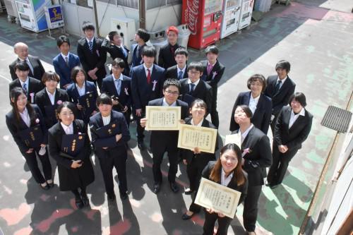 3月17日卒業式
