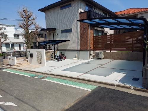 金沢区で外構工事