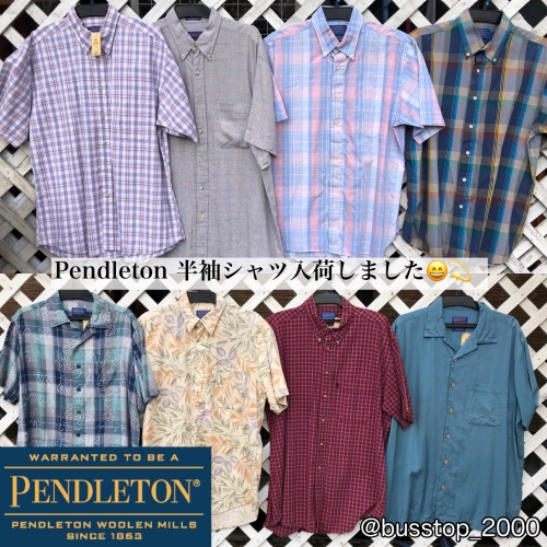 Pendleton半袖シャツが入荷しました!