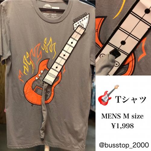 ギターのおもしろTシャツ入荷しました!
