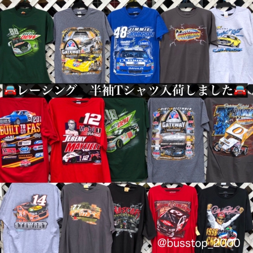 レーシング系Tシャツ今年も入荷しました!