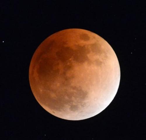 満月皆既月食&スーパームーン
