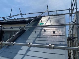 さいたま市で屋根の塗装工事を施工してきました