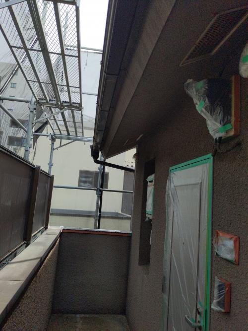東京都大田区アパート塗り替え工事