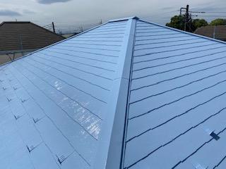 本庄市で屋根の塗装工事を施工しました