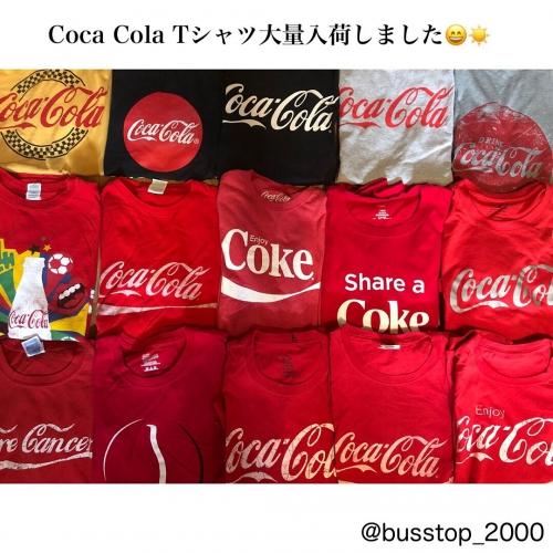 コカコーラTシャツ大量入荷しました!