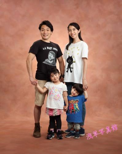 毎年恒例のイベントを増やしませんか 家族の記念写真