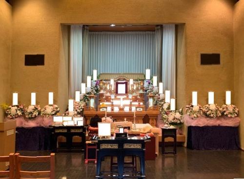 川越市民聖苑やすらぎのさとにて家族葬