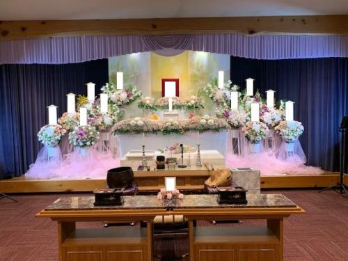立川市はごろもホールでのお葬式