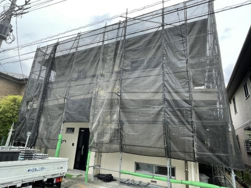 川崎市麻生区某所塗り替え工事