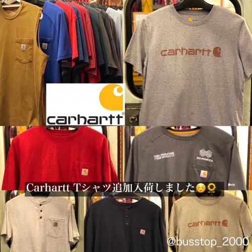 Carhartt Tシャツ追加入荷しました!