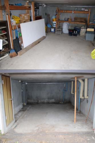 札幌市内のお客様より車庫内の片付け作業のご依頼です。