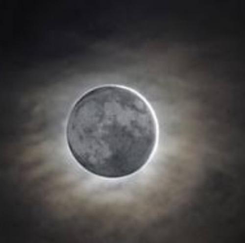 明日は新月です。