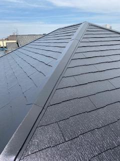 狭山市で屋根塗装工事を施工しました