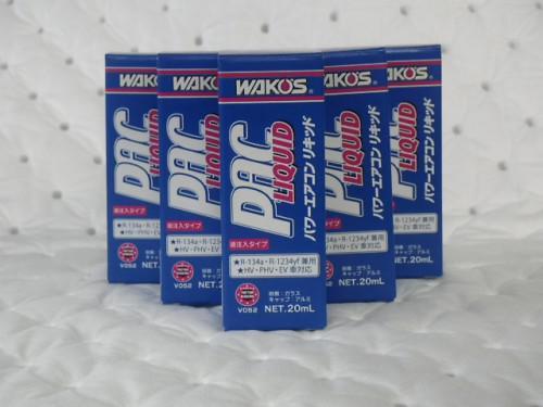 新商品WAKO'S パワーエアコンリキッド(PAC-L)
