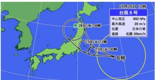 台風の季節になりました。