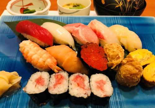 """新メニュー""""本店にて「寿司ランチ」始めました。"""