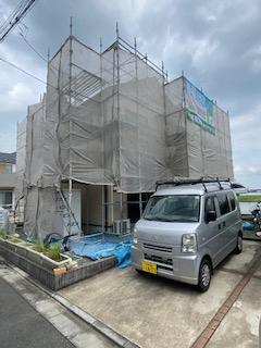 川越市で水洗い工事をしてきました