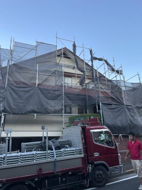 東京都多摩市某所塗り替え工事