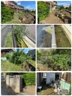 空き家のお庭の草刈りは八王子市便利屋