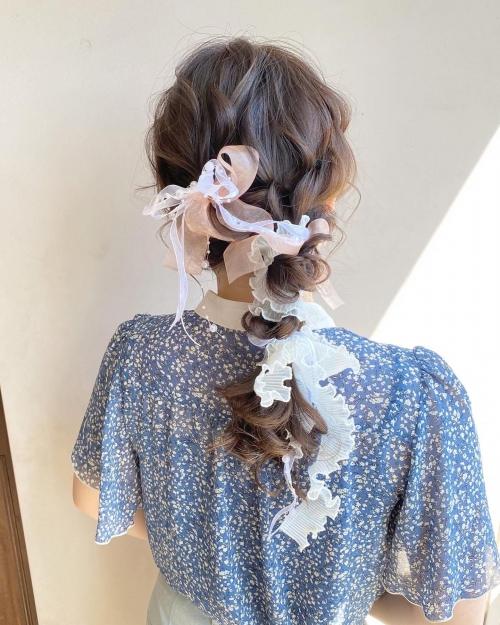 ウェディングフォト ウェディングヘア 結婚式 髪型