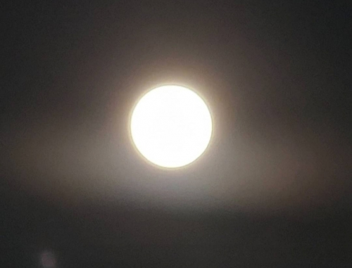 今夜は満月ですが…