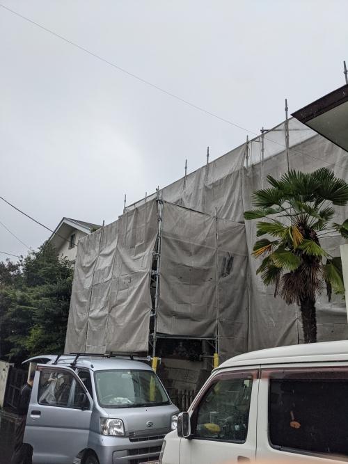 神奈川県川崎市麻生区千代が丘某所塗り替え工事