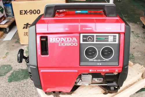 札幌市内のお客様よりホンダの発電機の買取り対応です