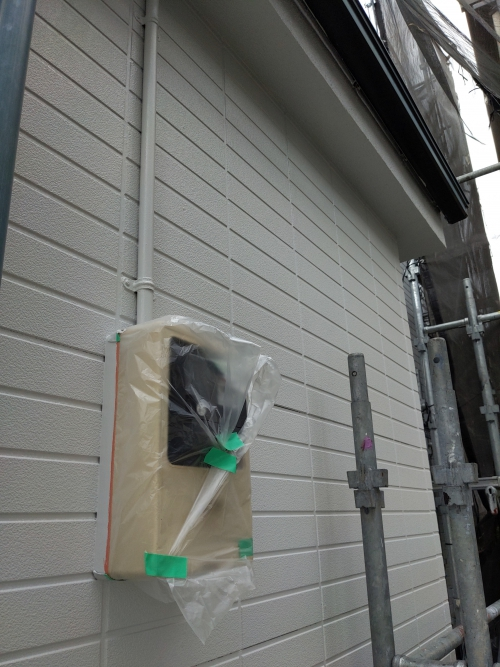 横浜市鶴見区某所塗り替え工事