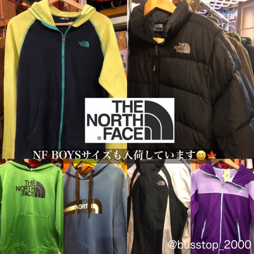 The North Face BOYSサイズもあります!