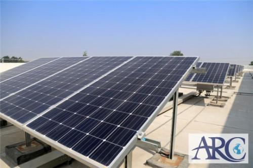 遮熱効果期待の自家消費型太陽光発電!