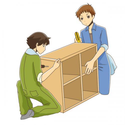 豊島区にてお荷物搬入・組み立て作業