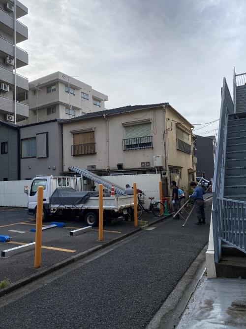 東京都荒川区西尾久 屋根の葺替え工事①