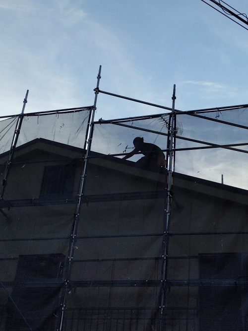 横浜市港北区某所塗り替え工事