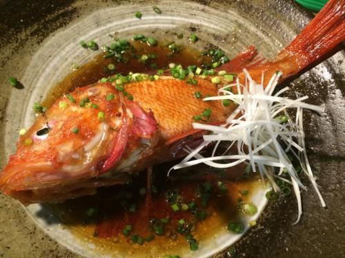 『北海道産 キンキの煮付け』