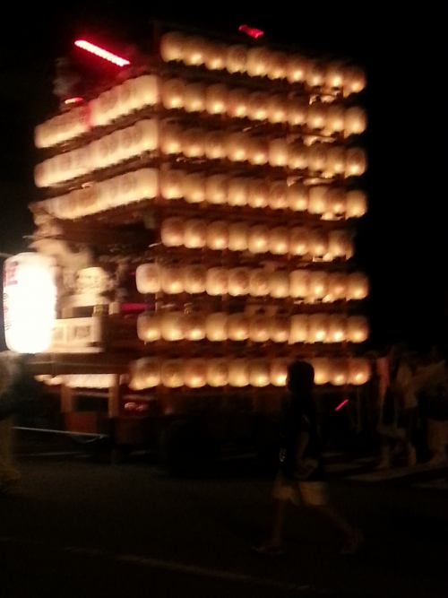 苅田町は、お祭りです♪
