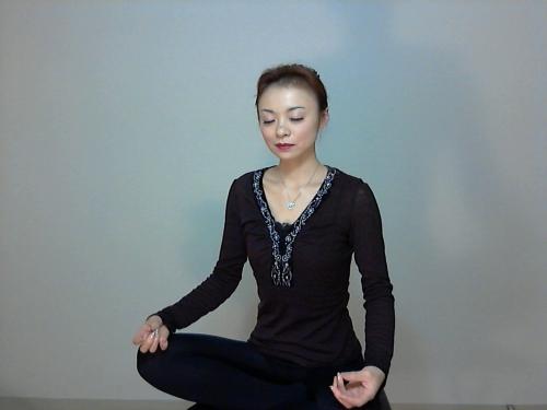 瞑想をして風邪を治す